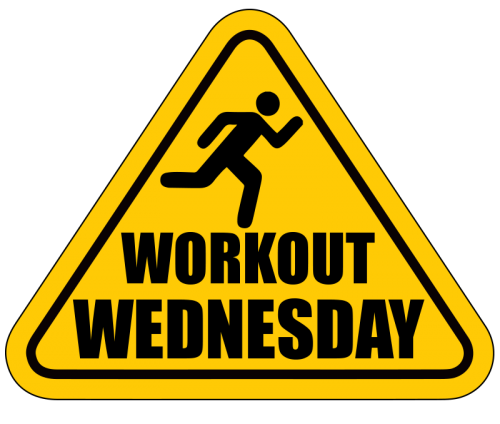 WORKOUT WEDNESDAY – The Get Your *BLEEP* Together Run
